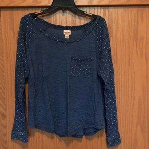 Mossimo supply co, long-sleeve top. Size XXL